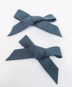 Forest Green Hair bows