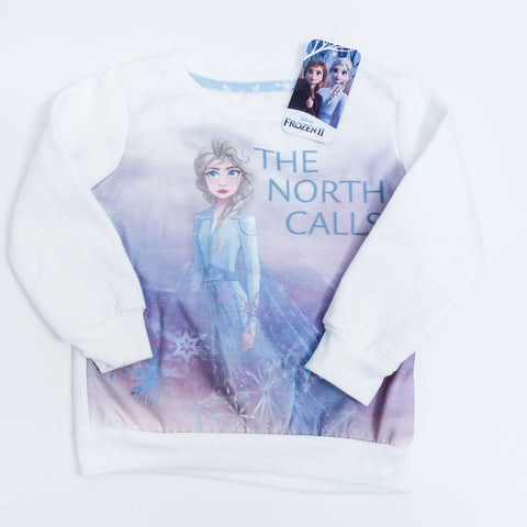 Disney Frozen Girls Sweatshirt Sz 3T NWT