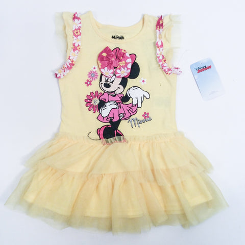 Disney Girls Minnie Sundress Sz 4T NWT