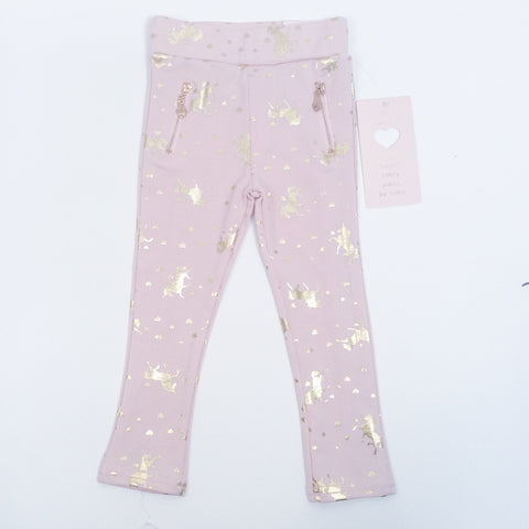 Soho Kids Girls Leggings Sz 3T NWT