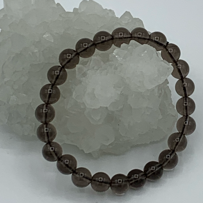 Smoky Quartz bracelet 8mm
