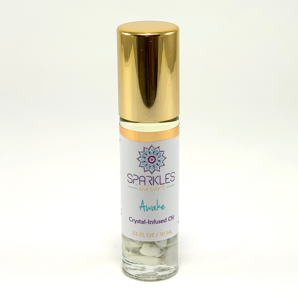 Awake Crystal-Infused Oil