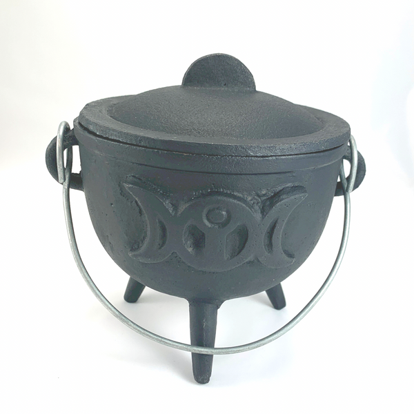 Cast Iron Cauldron - 3 Moons