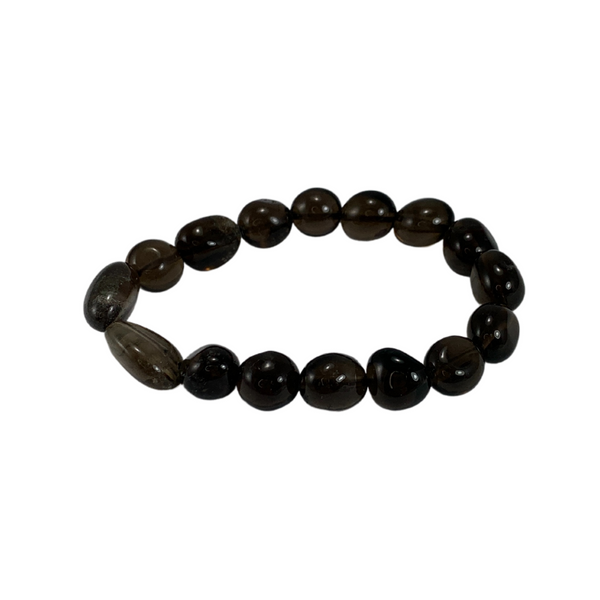 Smoky Quartz nugget bracelet