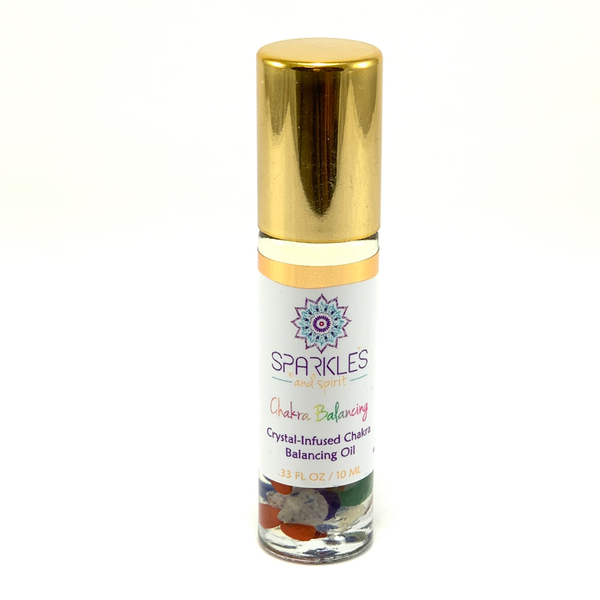 Chakra Balancing Crystal-Infused Oil
