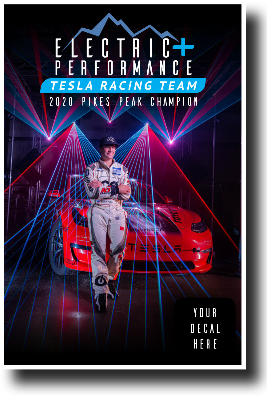 Electric Performance Pikes Peak Champion Poster