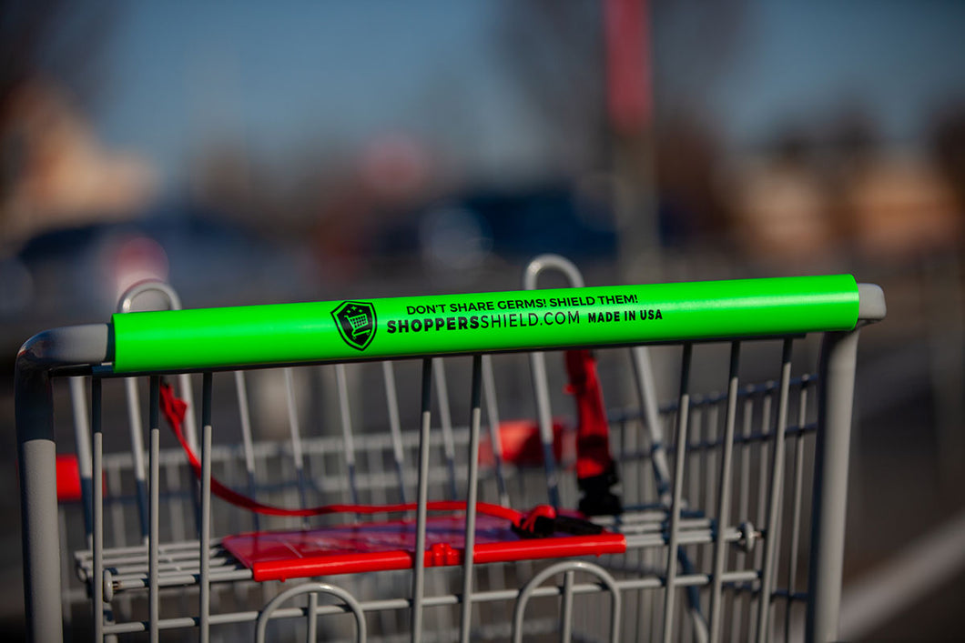 Shopper's Shield Shopping Cart Handle Cover