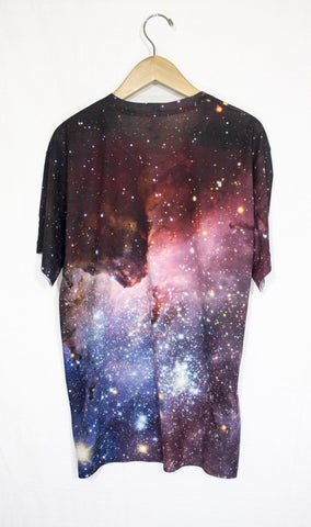 Blue Carina Galaxy Shirt, Back