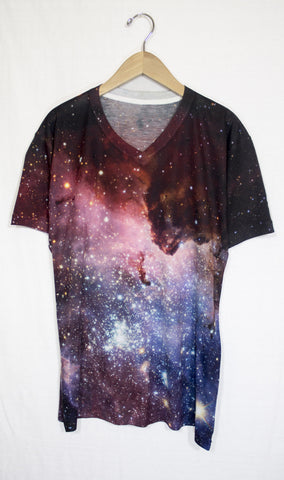 Blue Carina Galaxy Shirt, Front
