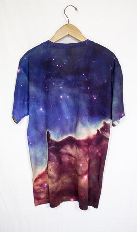 Carina Divided Galaxy Shirt, Back