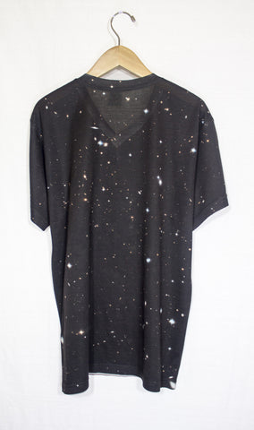 Galactic Clusters Galaxy Shirt, Back