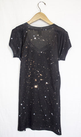 Galactic Clusters Galaxy Dress, Back
