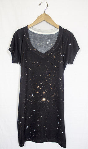 Galactic Clusters Galaxy Dress, Front