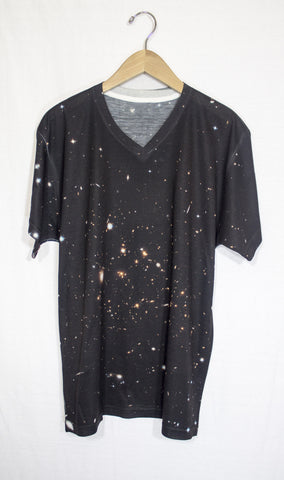 Galactic Clusters Galaxy Shirt, Front