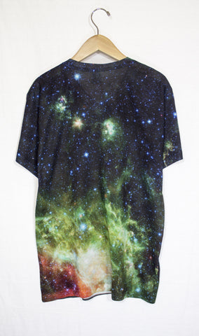 Heart and Soul Nebula Galaxy Shirt, Back