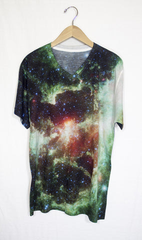 Heart and Soul Nebula Galaxy Shirt, Front