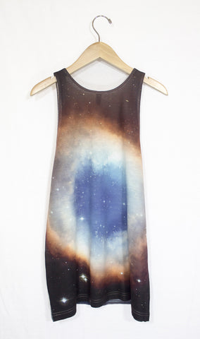 Helix Nebula Galaxy Tank Top, Back