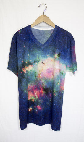 Milky Way Galaxy Shirt, Front