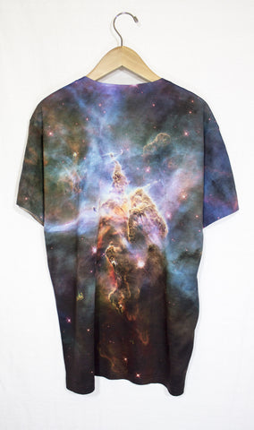 Mystic Mountain Galaxy Shirt, Back