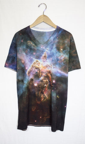Mystic Mountain Galaxy Shirt, Front
