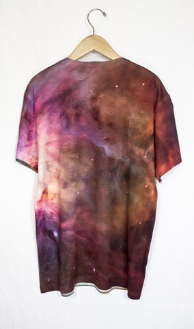 Orion Nebula Galaxy Shirt, Back