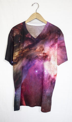 Orion Nebula Galaxy Shirt, Front