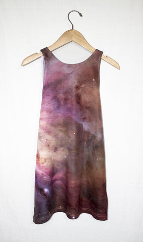 Orion Nebula Galaxy Tank Top, Back