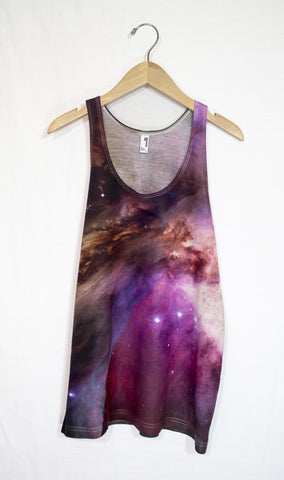 Orion Nebula Galaxy Tank Top, Front