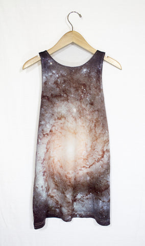 Pinwheel Galaxy Tank Top, Back