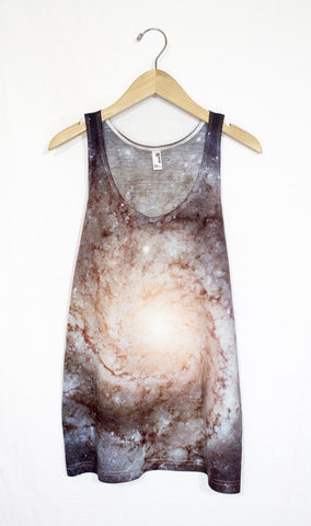 Pinwheel Galaxy Tank Top, Front