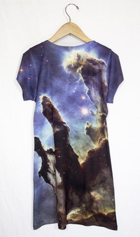 Pillars of Creation Galaxy Dress, Back