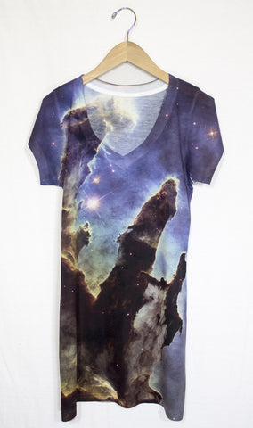 Pillars of Creation Galaxy Dress, Front