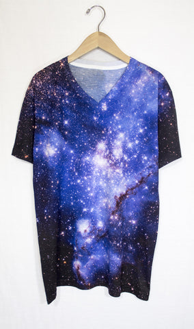 Small Magellanic Cloud Galaxy Shirt, Front