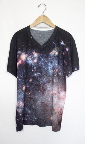 Starburst Galaxy Shirt, Front
