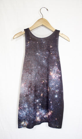 Starburst Galaxy Tank Top, Back