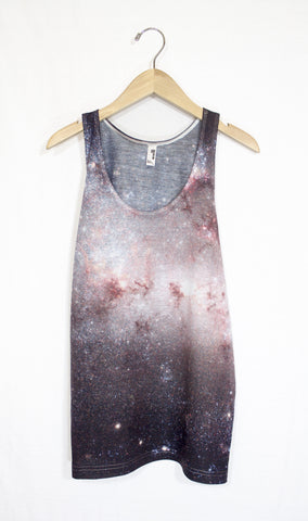 Starburst Galaxy Tank Top, Front
