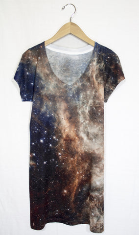 Tarantula Nebula Galaxy Dress, Front