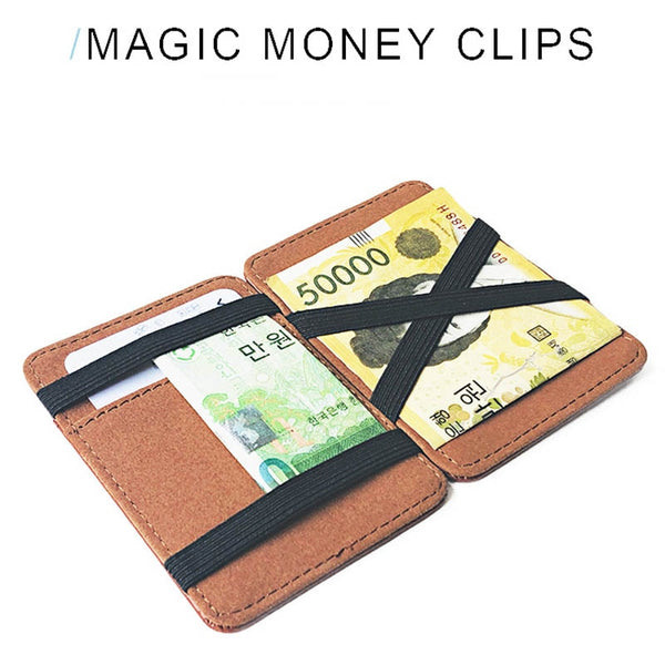 Slim card holder expand
