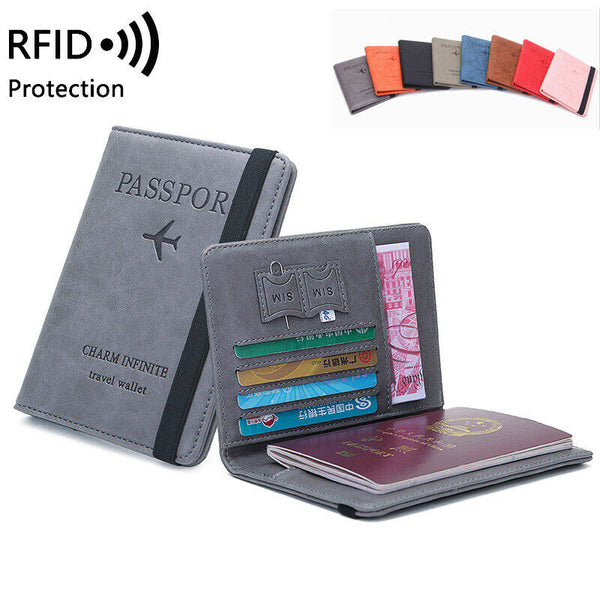 Travel wallet RFID over view