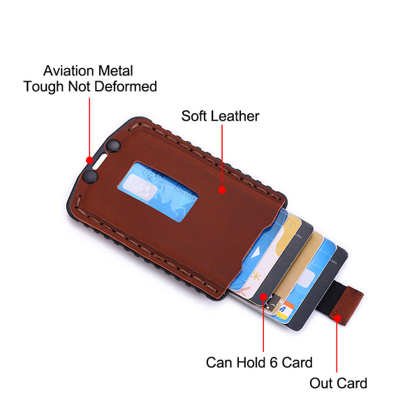 Slim card holder Illustration