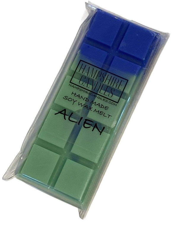 alien mini wax melt bar