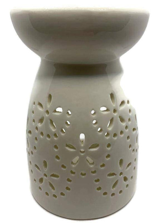 Flower wax burner