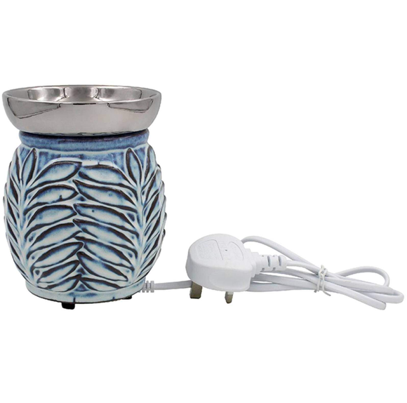 leaf design electric wax burner