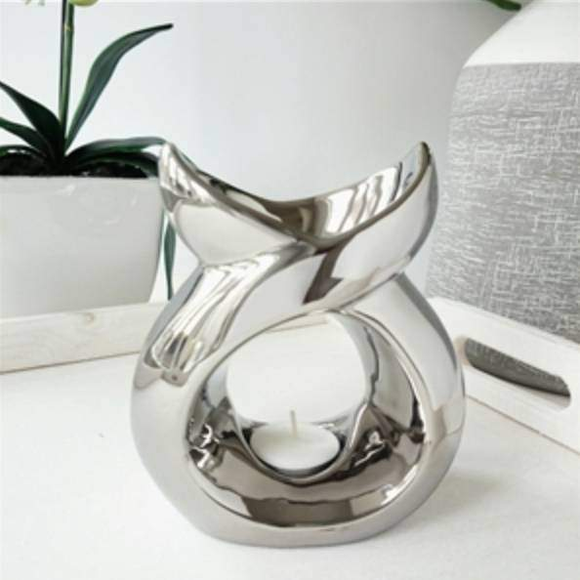 chrome fish tail wax melter
