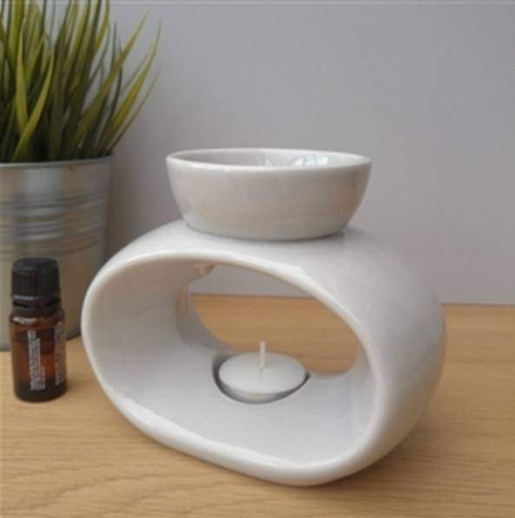 elegance light grey wax melter