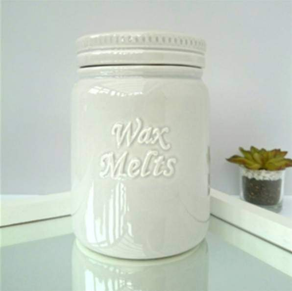 wax melt storage jar