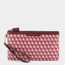 Load image into Gallery viewer, I Am A Plastic Bag Zip Top Pouch Pink