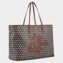 Load image into Gallery viewer, I Am A Plastic Bag Motif Tote Cedar