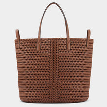 Load image into Gallery viewer, Neeson Two Way Tote Capra in Cedar