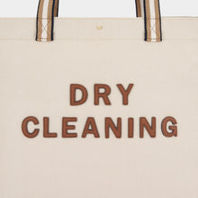 Load image into Gallery viewer, Dry Cleaning Household Tote Recycled Canvas in Natural